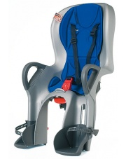 Fotelik rowerowy dla dziecka OK BABY 10+ szaro / niebieski