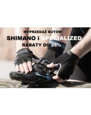 Promocja butów rowerowych Shimano i Specialized