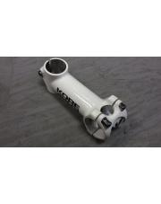 Mostek KORE RACE A-HEAD 100 x 31,8mm 6 stopni biały