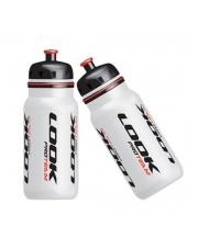 Bidon LOOK PRO TEAM 600 ml biały z logo