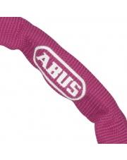 Łańcuch ABUS WEB 1500 - 60 cm różowy zapięcie / zabezpieczenie rowerowe