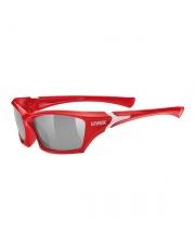 Okulary dla dzieci UVEX SGL 501 czerwono-białe