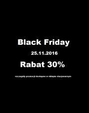Black Friday - rabat 30% na wszystko